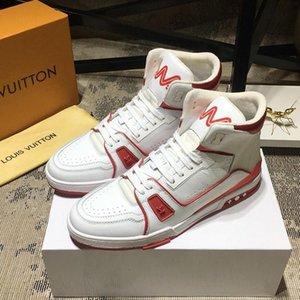 Shaspet de lujo de estilo de los hombres de los zapatos ocasionales con la caja de moda entrenador zapatilla de deporte de arranque Shaspet arriba para hombre Top Zapatos Zapatos Vintage Pour Hommes Luxur