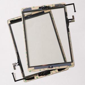 Tela de alta qualidade Ipad Air 5 Touch Panel digitador de vidro com botões Assembléia Adhesive Para Ipad Air Ipad 2 3 4 5 Mini 120 Pcs