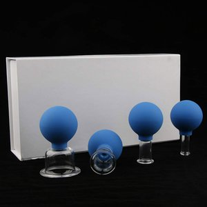 Silicone Cupping Set Chinese Traditional Vacuum Therapy Face Cupping Sets for Anti Cellulite Therapeutic Therapy Massage at Home