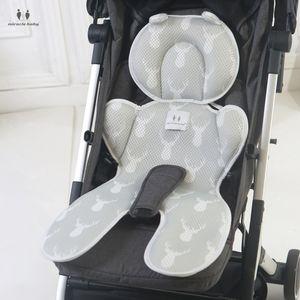 3D شبكة سميكة عربات اطفال ولوازم وسادة مقعد العربة الصيف الطفل مقعد حصيرة تنفس الوليد السيارات وسادة كرسي الطفل اكسسوارات العربات