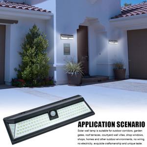 118 LED Solar Lights Outdoor Motion Motion Sensor Wall Yard Garden Pathway Lamp LED Lampada da parete