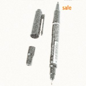 Neue schwarze Tätowierung Stift und Piercing Marker Skin Studio Stift Skizzieren Lieferungen Hohe Qualität Permanent Make-up Massachusetts Permanent Make 1Flm #