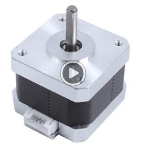 2 piezas / lote 2Phase RepRap motor de pasos del motor 42 42-34 3D impresora para la impresora RepRap Makerbot CREALITY 3D