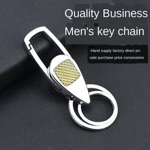 letras de la nueva aleación de coche de metal masculina llave de metal letras cadena dominante de los pares de los hombres de cadena DkxSY