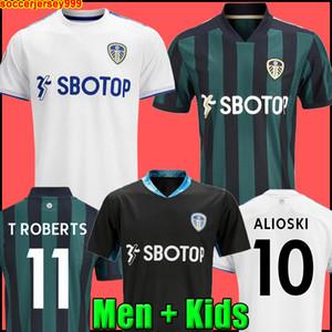 Camiseta de fútbol Leeds United 20 21 chandal T ROBERTS HARRISON HERNANDEZ COSTA BAMFORD ALIOSKI CLARKE 2020 2021 camiseta de fútbol uniformes Hombre + kit para niños de la