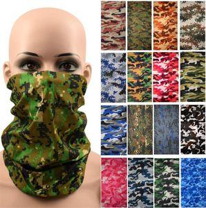 Hip Hop Sorunsuz Bandana Yüz Boru Kamuflaj Kafa Neckwarmer Koruma Maskesi Açık balıkçılık Binme Bisiklet Kafatası Atkı Maskeler Maske