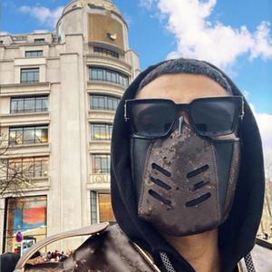 Дизайнер партии Маска Мода Многоразовая Кожа Lux Маска плед Противопыльного Хэллоуин маски хлопчатобумажная ткань маски для лица Моющихся крышек Мужчины Женщины