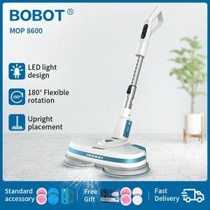 BOBOT MOP 8600 Пол Швабра Робот Электрический беспроводной ручной чистки полов Беспроводной Швабра Спин спрей для людей