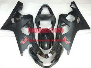 Подарки ABS кузов для матового BLK SUZUKI GSX-R 600 750 K4 GSXR600 2004 2005 750 04 05 GSXR600 GSXR750 обтекателей обвесы (литье под давление)