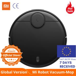 Versão global Xiaomi styj02ym Mi robô aspirador de pó Mop Pro Sweep 3 Modo LDS laser de navegação 2100Pa cuidados de piso de madeira