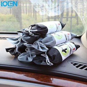Car Black Natural Bamboo Charcoal Air Freshener Bag Activated Carbon Remove Formaldehyde Smell Auto Accessories Home Deodorant