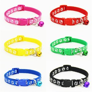 Easy Wear Cat Dog Collar With Bell Adjustable Buckle Dog Collar Cat Puppy Pet Supplies Cat Dog Accessories Small Adjustable Buckle