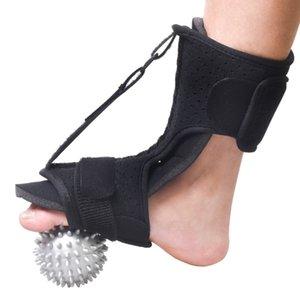 Men Women Orthotic Brace Drop Foot Night Splint Home With Spiky Ball One Size