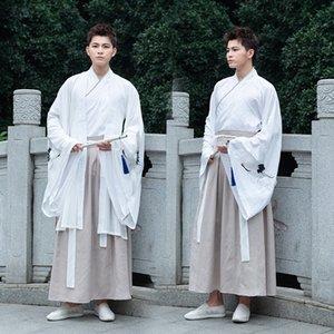 Tradizionale paio quotidiano cp cross-collare del legame cardigan tradizionale Hanfu quotidiana Hanfu paio cp cross-collare vestito vestito legame del cardigan Cappotto cappotto