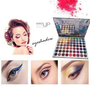 Pearlescent Matte Blend Eyeshadow Palette Multicolor Optional Makeup E2