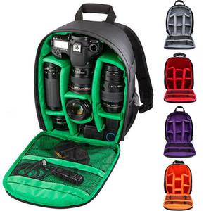 Водонепроницаемая цифровая Открытый Многофункциональный противоударный Рюкзак для Nikon Canon SLR Camera Lens Bag