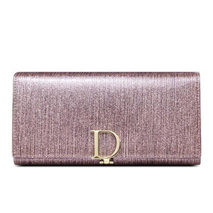 새로운 패션 여성의 지갑 Bifold 긴 지갑 정품 가죽 대용량 여자의 지갑 여성 손 가방 wallets96b1 번호