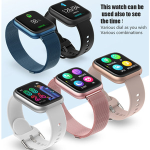 New P6 Smartwatch 2020 Wasserdicht Relojes Inteligentes Blutdruck-Sauerstoffüberwachung Sport Smart Watch P6 IWO