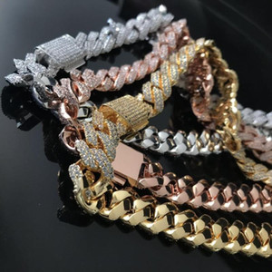 New design prong cuban link chain