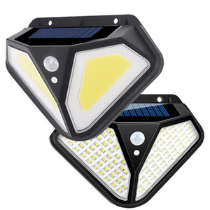 Solar Lamps Security Lights Motion Sensor 103LED Solar Panels Power Waterproof For Outdoor Garden Wall Lights In Stock
