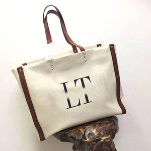 saco de lona handbags 2020 nova moda carta de fadas bolsa de versão coreana de todo o jogo sacos de ombro bolsas femininas sacos de compras sacos de ombro