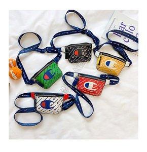Lettere pelle pacchetto di Fanny Champions sacchetto della vita Designers Tracolla PU bambini capretti della stampa Crossbody Messenger Totes viaggio Beach CP02
