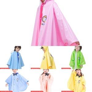 ENfCL Çocuk trençkotu yağmur botları anaokulu panço çizmeler çocuk çocuklar çocuk seti kız pelerin ilkokul öğrencisi bebek Rain pelerin