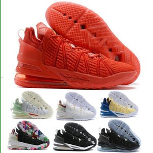Man James 18 18s Basketball Shoes Sneakers Mens Empire Jade Gang By Day Reflections White Cheap 2020 New Arrival Authentic Trainers Shoes