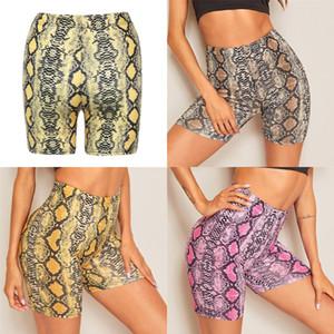 Sports Shorts Feminino de secagem rápida alta Wear Calções de corrida soltas Casual Anti-Shine aptidão da ioga # 187