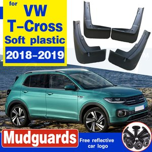Car Mud Flaps Splash Guards Mudguards Mud Flap Fender Mudflaps Accessories For Volkswagen VW T-Cross 2018 2019 Accessories