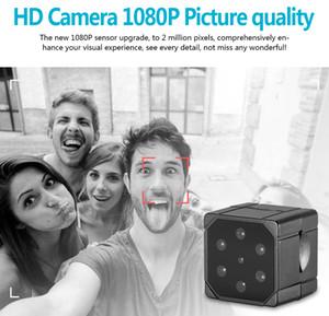 SQ19 de infrarrojos de visión nocturna Mini cámaras de vigilancia de 1080p Full-HD videocámara micro portable Videocámara Micrófono incorporado SQ8