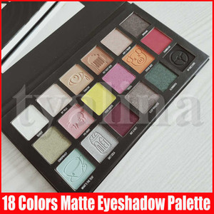Newest Star Eye Shadows Makeup Conspiracy Eyeshadow Palette 18 Colors Pigments Shimmer Matte Eye Shadow Palettes