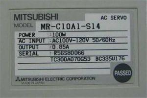 1PC USED Mitsubishi сервопривода MR-C10A1-S14 # RS19