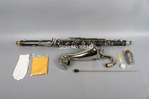 Nuovo arrivo clarinetto basso in Sib Tune bassa E professionali argentatura Keys strumento musicale con il caso di trasporto