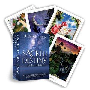 Family Party Carte pleine de Tarot carte destin Divination Guide destin New Sacred Oracle Anglais Divertissement Instruction Pdf yxlAQU