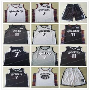 MEN نتسالفانيلة مدينة بروكلين 11 ايرفينغ 7 ديورانت المدرسة الثانوية Kyrie كيفن جيرسي كلية كرة السلة