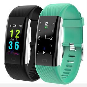 Bluetooth intelligent Band F07 plus Oled écran couleur de remise en forme Bracelet IP68 étanche Natation Fréquence cardiaque Pression artérielle Smart Monitor Bandeaux