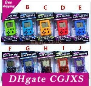 2019 Palmtop Mini elektronische Spielkonsole Tetris Game Nostalgie Spielzeug Tamagotchi Lustige Kinder Spielzeug Spielkonsole Weihnachtsgeschenke Freies Dhl