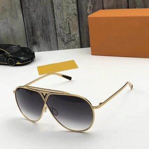 ücretsiz lojistik Küresel 0026 son tasarım klasik moda stil sac erkekler ve kadınlar lüks en kaliteli UV400 güneş gözlüğü