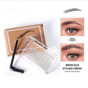 Ucanbe 3D Пернатый Brow Styling мыло Eye Brow Gel Настройка водонепроницаемый макияж долговечны Природные Оттенок Бровь Воск Косметика 50шт / много