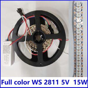 Tiktok Holiday Lightings Colors Full Colors WS2812B 12MM DC5V RGBW Pixel Christmas Light Striscia luminosa con controllo SPI