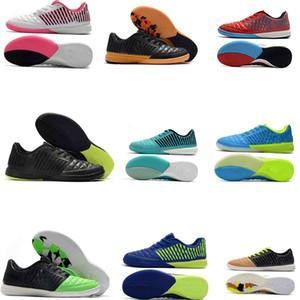 2020 Мужские футбольные бутки Lunar Gato II IC Крытые футбольные туфли MD Кожаные кожи Футбольные ботинки Tacos De Futbol