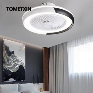 fashion APP smart ceiling fans with lights remote control fan light ventilator lamp air cool bedroom decor modern 50 cm