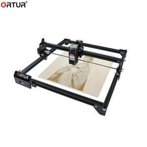 Livraison rapide OLM-2 Machine de gravure au laser OLM-2 40 * 43cm 2axis Haute vitesse DIY Graveuse de bureau Outils de travail de bureau + lunettes laser