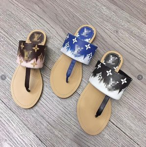 2020 Louìs Vuìttõn shoes flat fairy flip-flops women fashion outside wear cool slippers women clip-on slip-resistant beach shoes summer tide