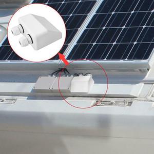 من السهل تركيب مزدوج لوحة كابل سقف الشمسية ABS الدخول الغدة تقاطع مربع