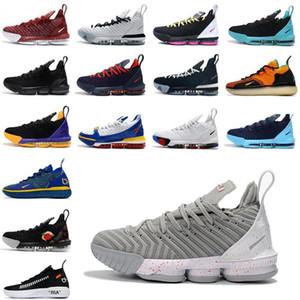 2020 novo James 16s tênis de basquetelebron 16 Homens Tribunal exterior formadores sneakers chaussures esportes sapatos tamanho 40-46 WP5U #