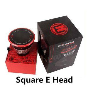 Quadratische E-Kopf-E-Kopf 2400mAh-Kartusche Nachfüllbarer Einweg-Haken-Wiederaufladbare E-Head-Verdampfer E-Cig-Kit DHL-freies Verschiffen