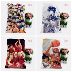 IVYYE 1PCS Slamdunk forma personalizada Anime Toalhas de banho Lenço Macio toalha de rosto dos desenhos animados Washcloth Unisex NOVO