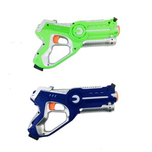 Pistola de juguetes y niños Audio Visual Electric Flying Saucer Pistola